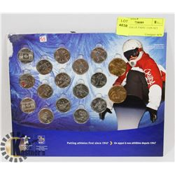 2010 CANADA OLYMPIC COIN SET