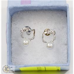 .925 HELLO KITTY EARRINGS