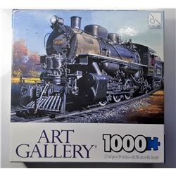 3)  FACTORY SEALED 1000 PCE PUZZLE