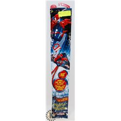 "NEW 52"" SPIDERMAN KITE WITH HANDLE, CLIP,"