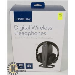 INSIGNIA DIGITAL WIRELESS TV HEADPHONES