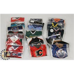LOT OF 20 UPPERDECK MINI JERSEYS INCL EDMONTON,