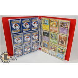 BINDER OF OVER 270 POKÉMON CARDS - ASSORTED SETS.