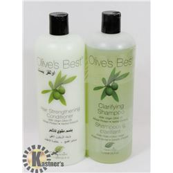 OLIVE'S BEST CLARI FYING SHAMPOO AND CONDITIONER