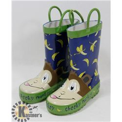 CHILD RUBBER BOOTS SIZE 7