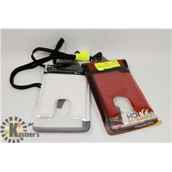 LOT OF 2 NEW TRAVELON FLOATING SMART PHONE POUCH