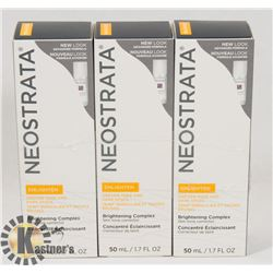 3 PACK OF NEOSTRATA ENLIGHTEN UNEVEN TONE AND