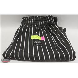 CHEFS CHOICE NEW PANTS SIZE S MADE IN CANADA.