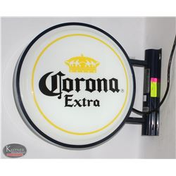 WALLMOUNT CORONA EXTRA LIGHTUP SIGN *NEEDS FUSE