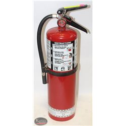 FIRE EXTINGUISHER ABC-10 TESTED AUG 2018