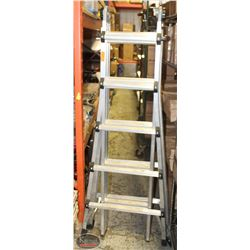 5' FOLDING COSCO MULTI-USE LADDER SYSTEM