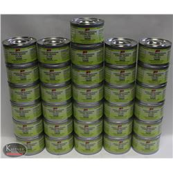 LOT OF 31 CANS OF GFS ETHANOL CHAFING DISH FUEL