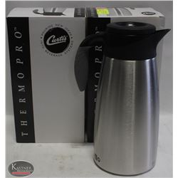 2 NEW CURTIS S/S INSULATED COFFEE CARAFES