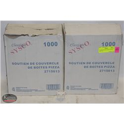 2 CASES OF SYSCO PIZZA-SAVERS, 1000/CASE