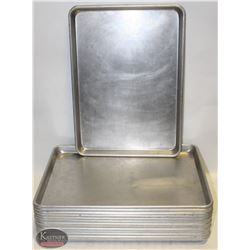LOT OF 14 HALF SIZE BUN PANS-ON CHOICE