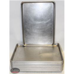 LOT OF 14 HALF SIZE BUN PANS- ON CHOICE