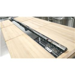 "44"" STAINLESS STEEL CHECK HOLDER/ORDER RAIL"