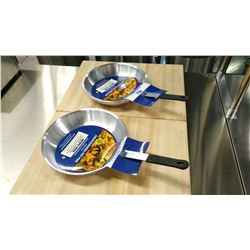 "10"" ALUMINUM FRY PANS, JR 63230 - LOT OF 2"
