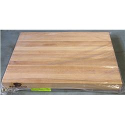 """16"""" HARD CANADIAN MAPLE SOLID CARVING BOARD"""