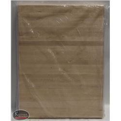 HARD CANADIAN MAPLE CARVING BOARD- NEW