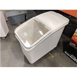 27 GALLON ROLLING INGREDIENT BIN
