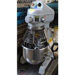 GLOBE 20 QT 3 SD DOUGH MAKER WITH SAFETY CAGE TIME