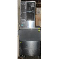 HOSHIZAKI COMMERCIAL ICE MAKER WITH ICE BIN