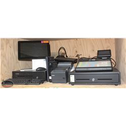 POINT-OF-SALES SYSTEM W/ CASH REGISTER, 2 EPSON