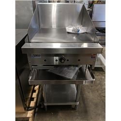 "STRATUS 24"" NATURAL GAS GRIDDLE & EQUIPMENT STAND"