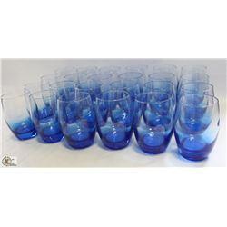 BLUE MALEA HIBALL TUMBLER 12.5OZ, MADE IN FRANCE