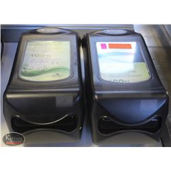 LOT OF 2 CASCADES SERVONE NAPKIN DISPENSERS