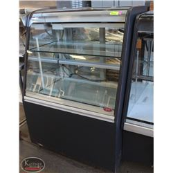 QBD CURVED GLASS COMMERCIAL REFRIGERATED DISPLAY