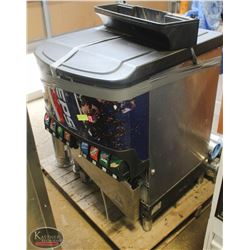 1 COUNTER TOP PEPSI MACHINE W/PUMP