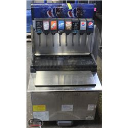 PEPSI DRIVE THRU POP MACHINE W/ CO2 PUMP