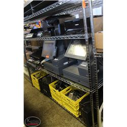 LARGE POS SYSTEM INCL: 2 APC PRO 1000 BATTERY
