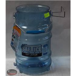 SAFE-T ICE TOTE NEW 6 GAL CAPACITY