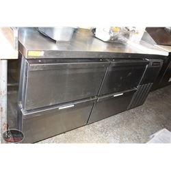4 DRAWER S/S CONTINENTAL COMMERCIAL UNDERCOUNTER