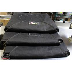 SET OF 3 COMMERCIAL INSULATED PIZZA DELIVERY BAGS