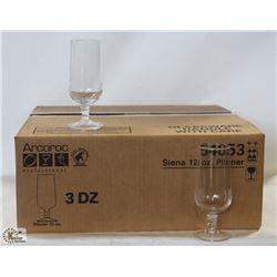 ARCOROC PRO SIENA 12 OZ. PILSNER GLASS, 1 CASE