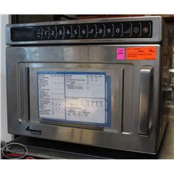 AMANA S/S COMMERCIAL 2100W MICROWAVE