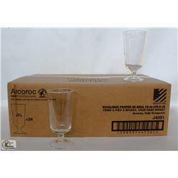 ARCOROC 10 OZ. FOOTED HI-BALL, 1 CASE ARC06