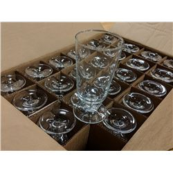 10OZ/300ML FOOTED HI BALL GLASSES - LOT OF 24 (1 C