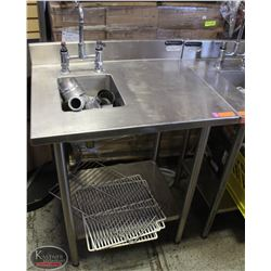 WASSERSTROM S/S COMMERCIAL PERSONAL WASHING SINK
