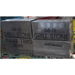 LOT OF 4 GB-12 GRILL STONES.
