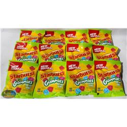 CASE OF STARBURST SOUR GUMMIES