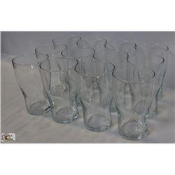 CARDINAL J1671 TULIP BEER GLASS, 14 OZ. 1 CASE