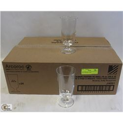 EXCALIBUR FOOTED HI BALL GLASSES - 1 CASE