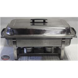 STAINLESS STEEL FULL-SIZE FOOD CHAFING DISH W/ LID