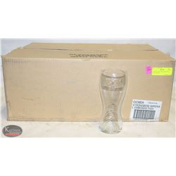 CASE OF NEW STRONGBOW 20 OZ PINT GLASSES