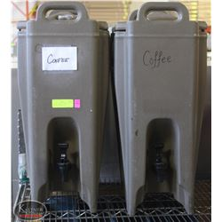 LOT OF 2 CAMBRO INSULATED BEVERAGE DISPENSERS